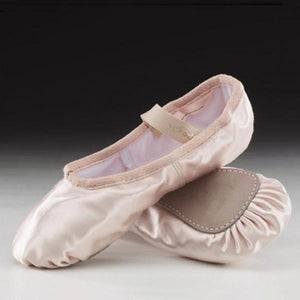 Capezio Daisy Satin Ballet Shoes with Elastic