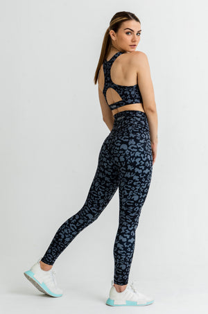 Load image into Gallery viewer, Jungle Leggings - Black Jaguar