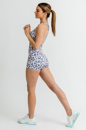 Load image into Gallery viewer, Jungle Shorts - Pink Leopard