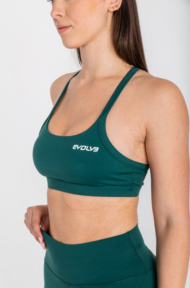 Load image into Gallery viewer, Lux Sports Bra - Jade