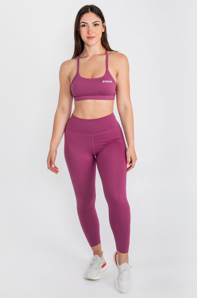 Load image into Gallery viewer, Lux Sports Bra - Rose