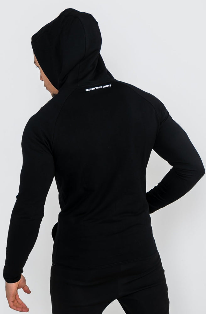 Load image into Gallery viewer, Prime Zip Hoodie - Black