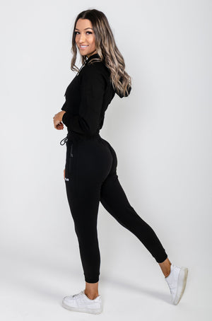 Load image into Gallery viewer, Tapered Joggers V2 - Black