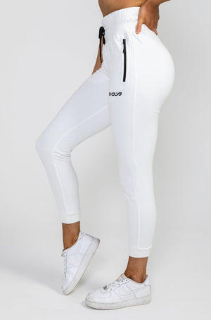 Tapered Joggers V2 - Polar White