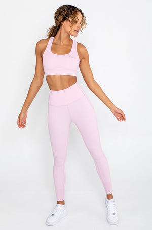 Load image into Gallery viewer, Hyper Sports Bra - Pastel Pink