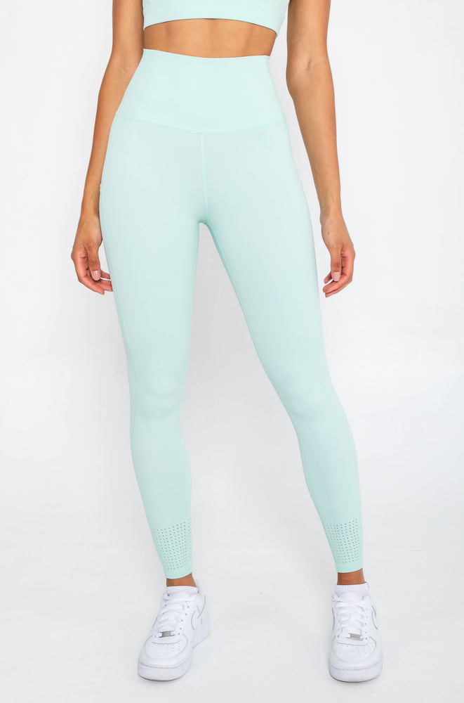 Active Leggings - Pastel Mint