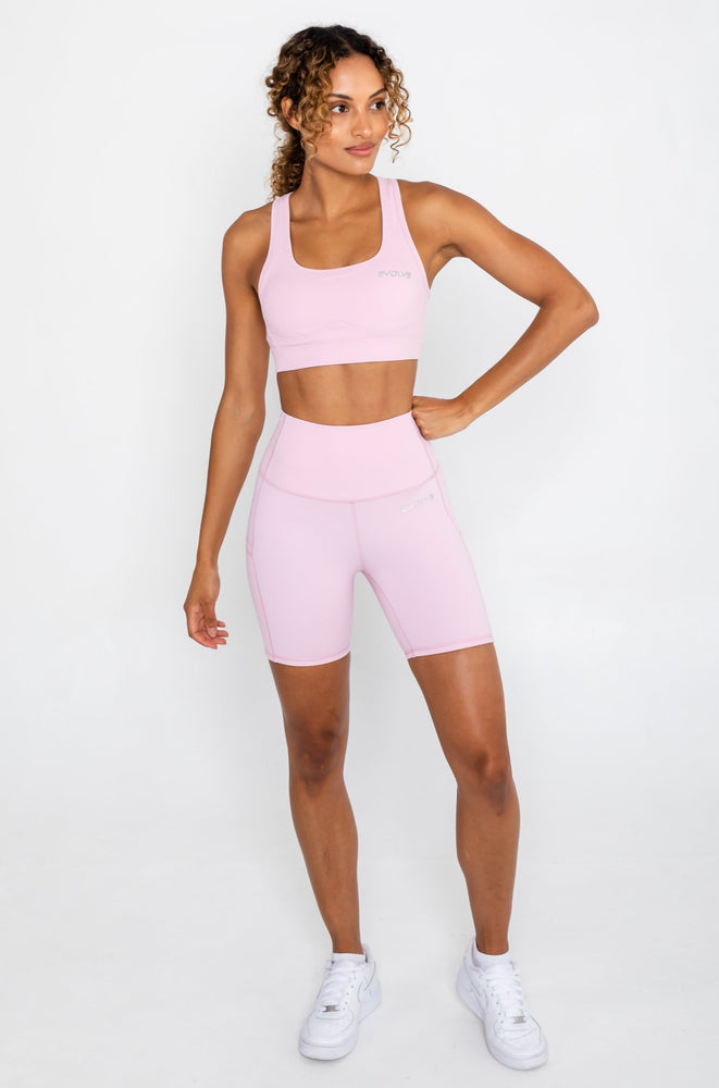 Load image into Gallery viewer, Active Bike Shorts - Pastel Pink