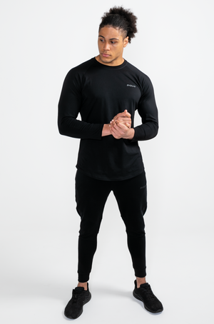 Load image into Gallery viewer, Element Long Sleeve Tee - Black