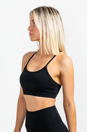 Load image into Gallery viewer, Aeroswift Sports Bra - Black