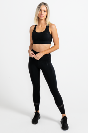 Load image into Gallery viewer, Hyper Sports Bra - Black