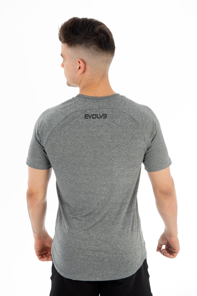 Performance Tee - Grey Marle