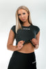 Signature Crop Top - Charcoal