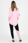 3rd Story - Gisele sweater - Flamingo pink