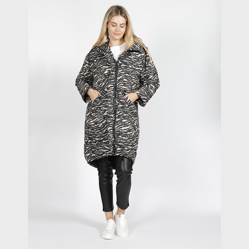 SASS - Madison puffer jacket - Spot