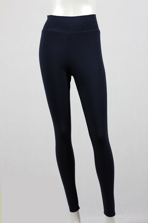 Bamboo by Whispers - Leggings - Dark navy