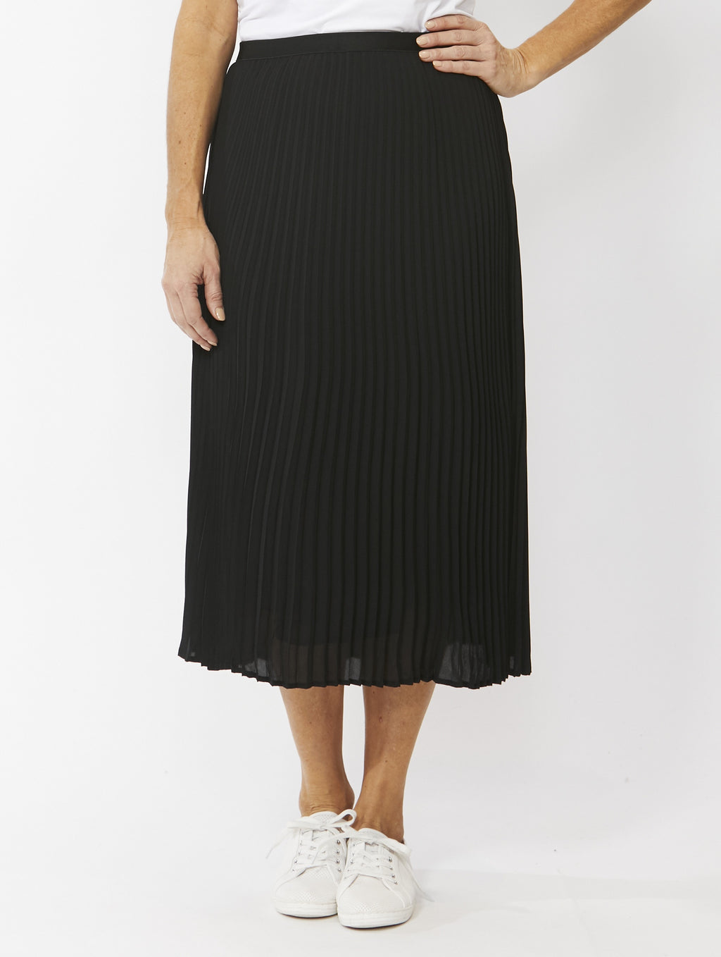 Ping Pong - Pleated skirt - Black