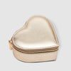 LouenHide - Heart jewellery box - Metallic gold