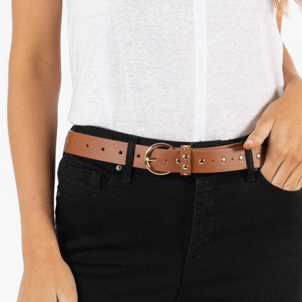Betty Basics - Cosmopolitan belt - Tan