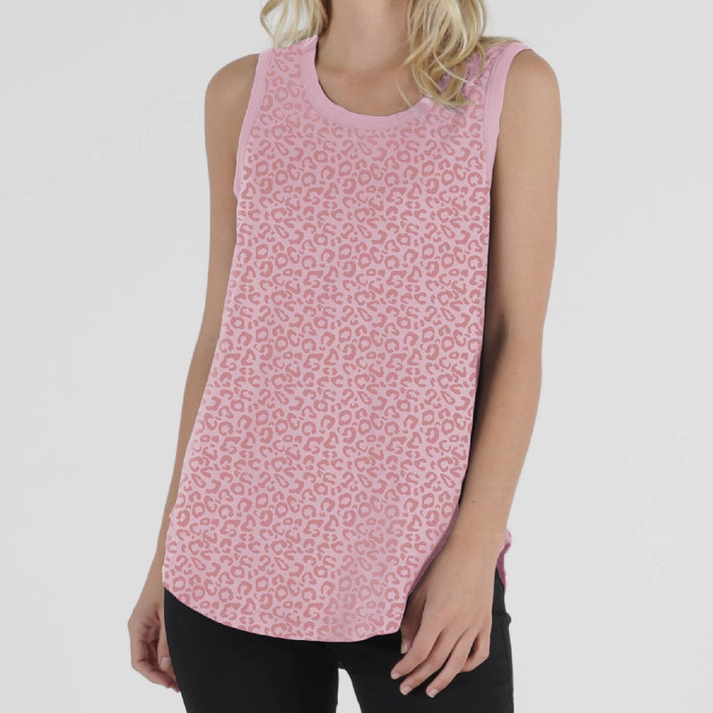 Betty Basics - Keira tank - Pink ocelot