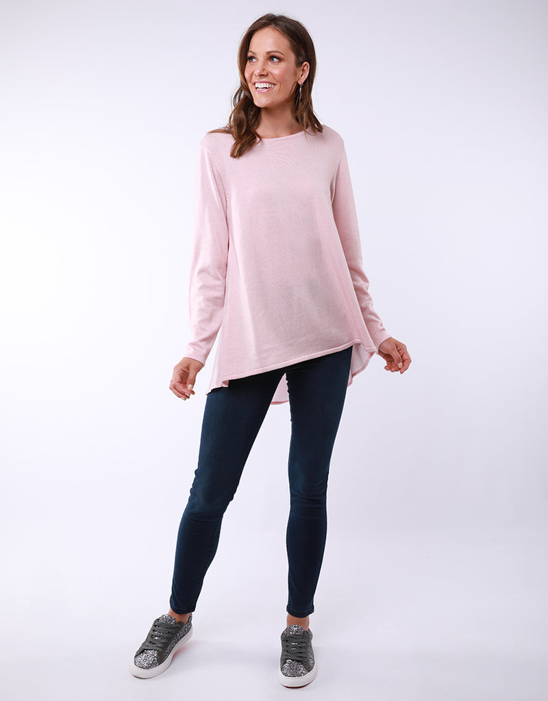 Elm Lifestyle - Flowing mix knit - Rosewater