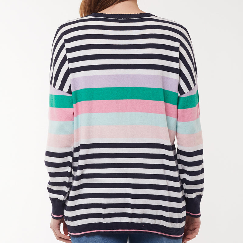 Elm Lifestyle - Passion stripe knit - Multi