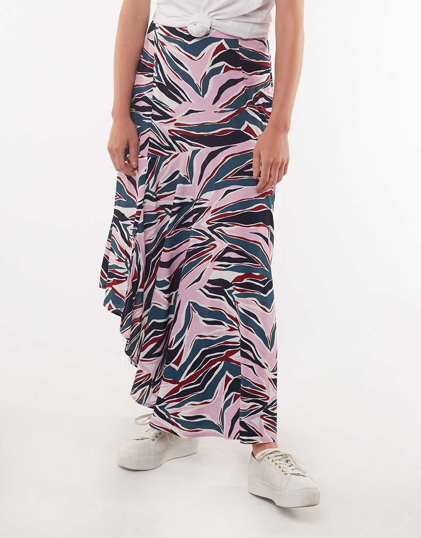 Elm Lifestyle - Animalia Skirt - Abstract animal print