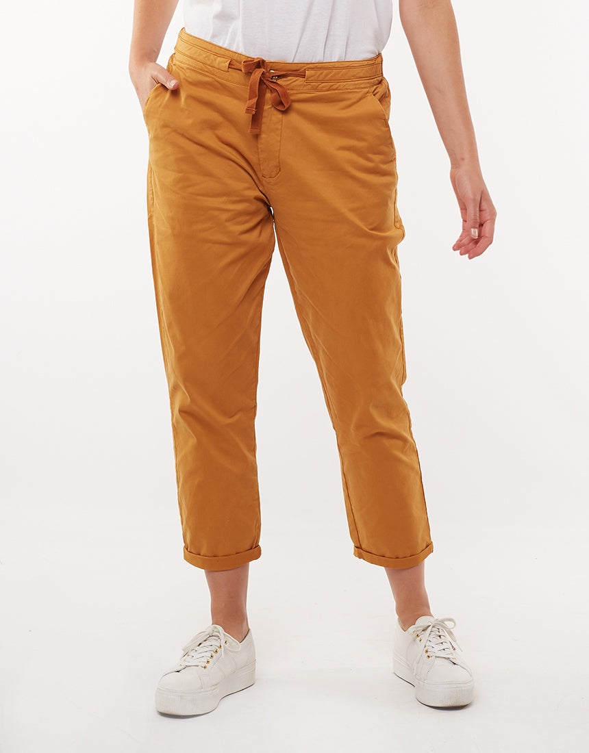Elm Lifestyle - Adelyn Chino - Deep mustard