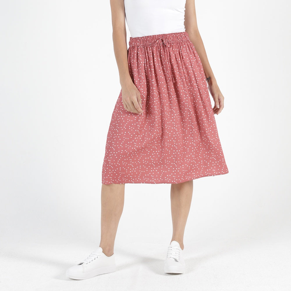 Betty Basics - Landon skirt - Ditsy heart