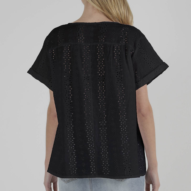 SASS - Aubri top - Black