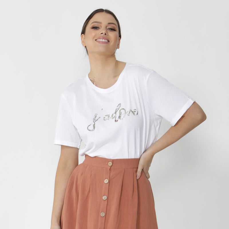 SASS - Aisha top - White