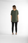 Betty Basics - Granada tee - Olive