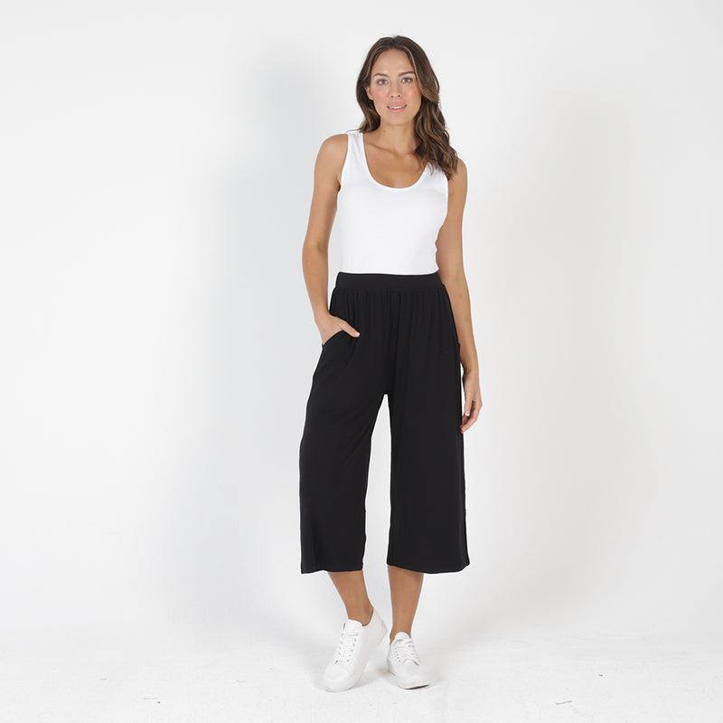Betty Basics - Dublin cropped pant - Black