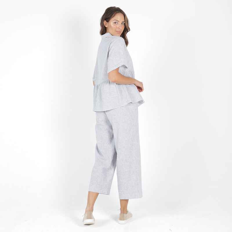 Betty Basics - Parker pant - Pinstripe