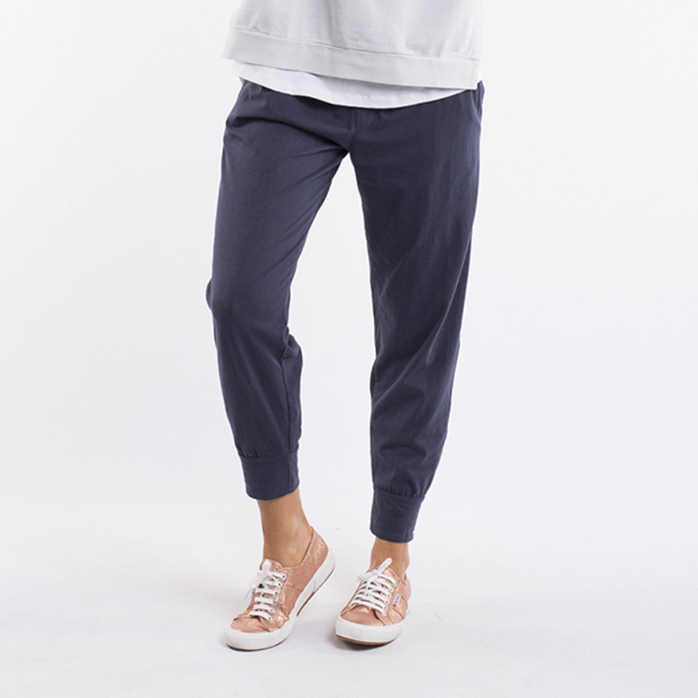 Elm Lifestyle - Wash out lounge pant - Navy