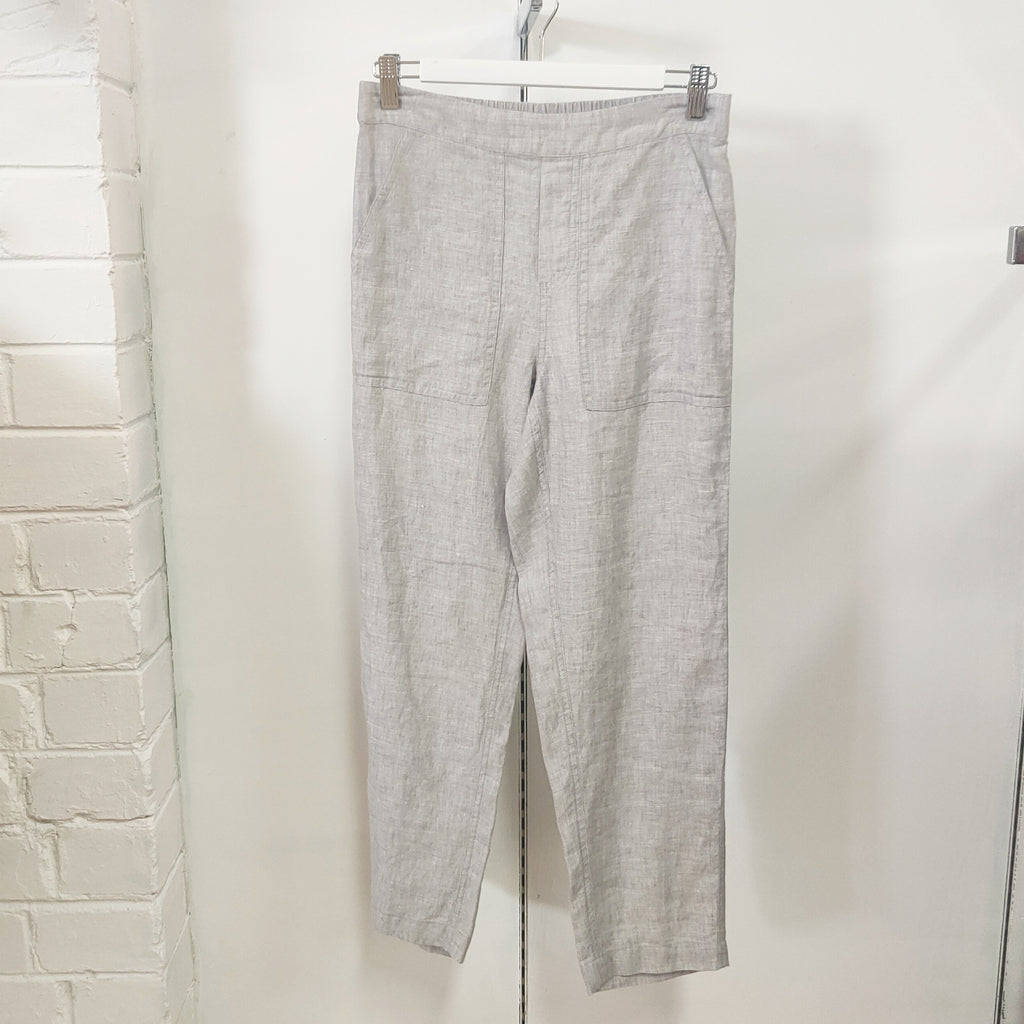 Jump - 7/8 classic pant - Silver