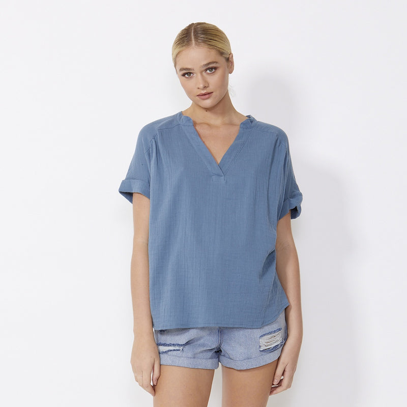 SASS - Dharma top - Blue