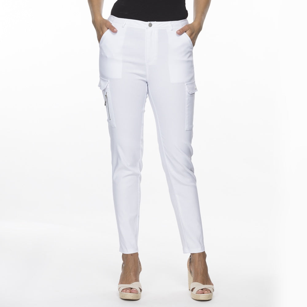 Threadz - Cargo pants - White