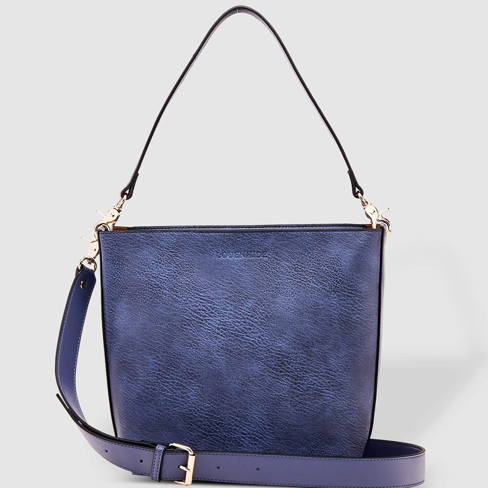 LouenHide - Charlie shoulder bag - Denim