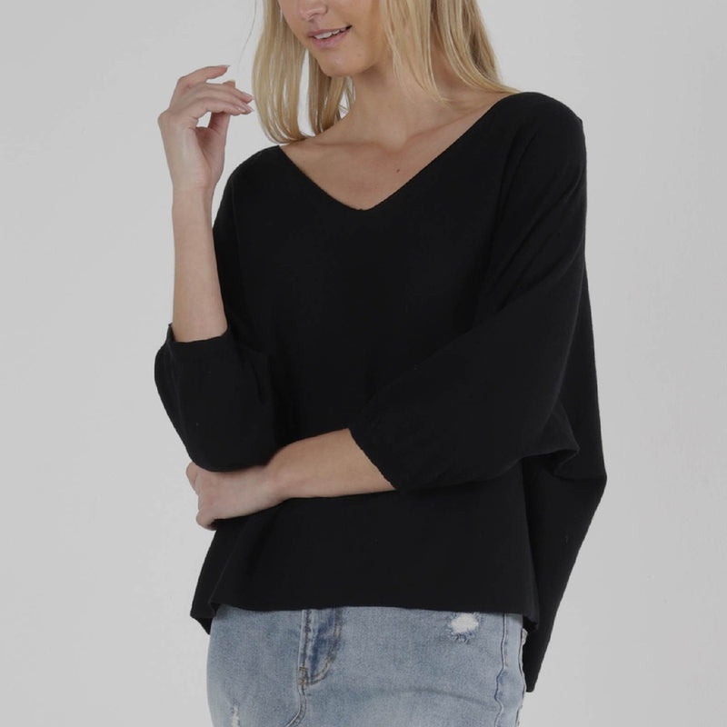 SASS - Amelie knit - Black