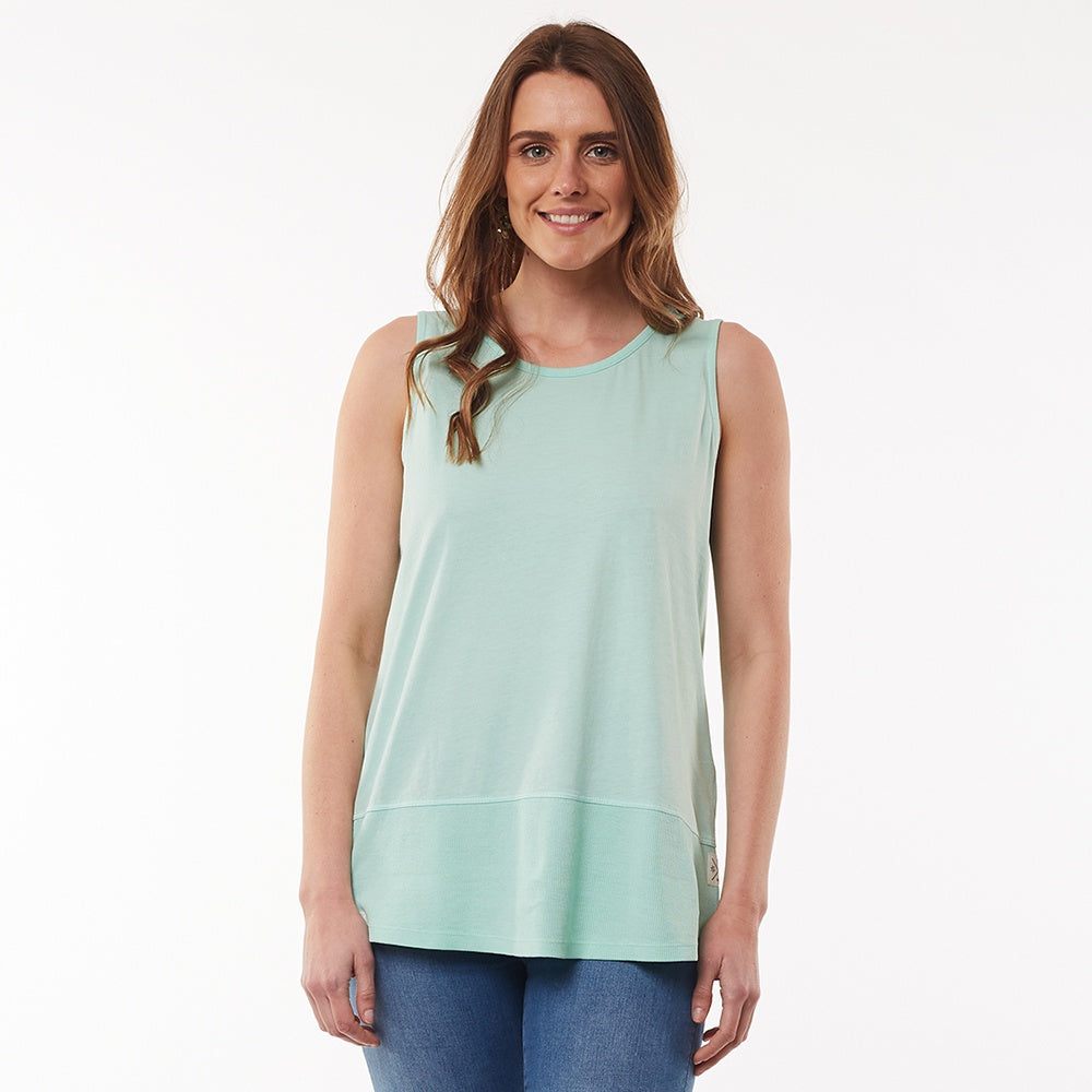 Elm Lifestyle - Fundamental rib tank - Mint