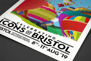 Special Edition Bristol International Balloon Fiesta Print 2019