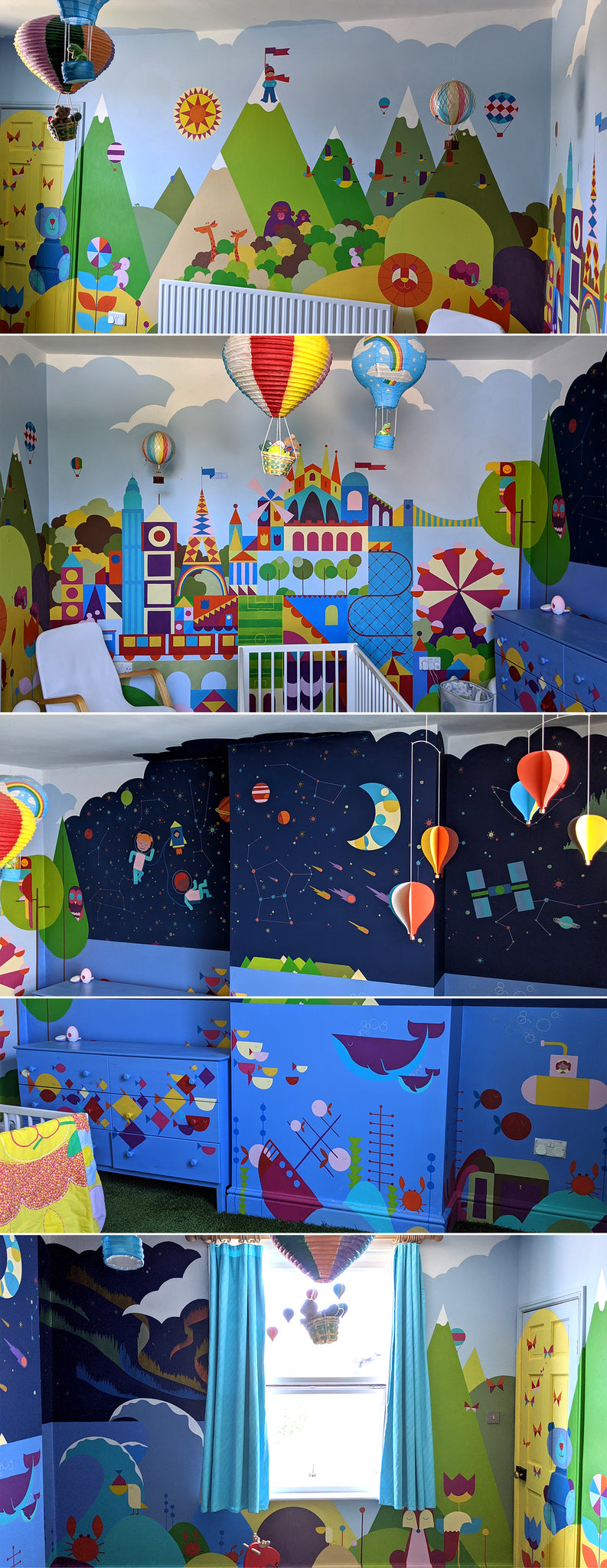 Nursery painting decorating ideas