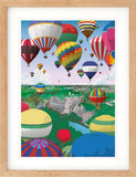 Bristol Hot Air Balloons Print