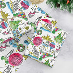 Bristol christmas wrapping paper