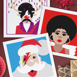 Musician Christmas Cards (Set of 3) - BemmiesBazaar