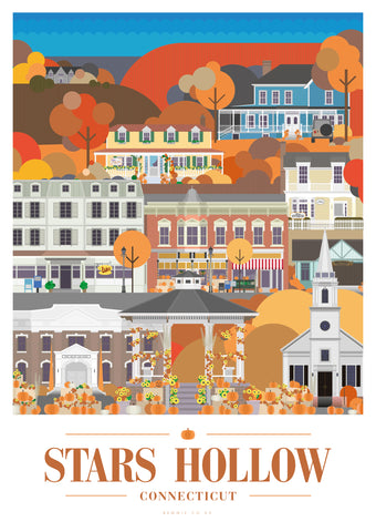 Gilmore Girls - Stars Hollow Print