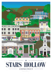 Gilmore girls print - Stars Hollow Print