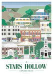 Gilmore Girls Stars Hollow Print