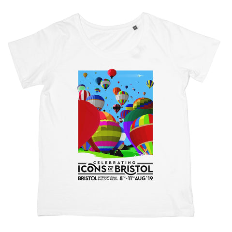 Bristol Balloon Fiesta 2019 Women's Retail T-Shirt