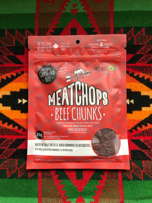 Meat Chops Beef Chunks- Cracked Pepper